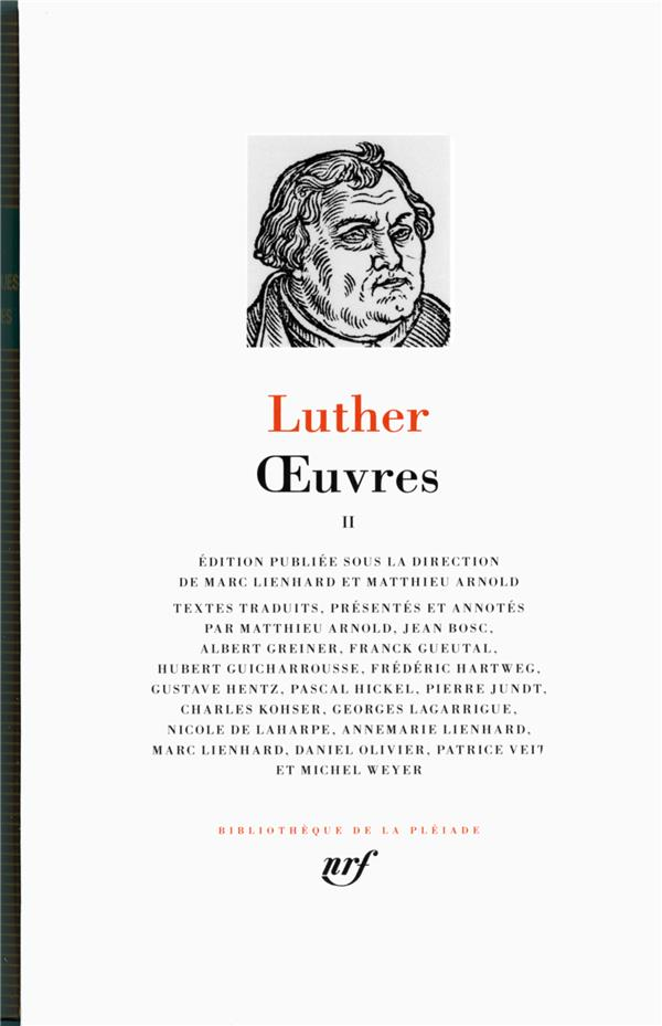 Luther Oeuvres T2
